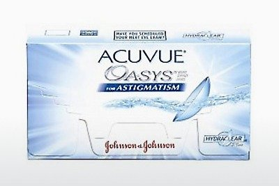 Lentes de contacto Johnson & Johnson ACUVUE ADVANCE for ASTIGMATISM (ACUVUE ADVANCE for ASTIGMATISM AGT-6P-REV)