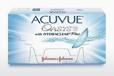 Lentes de contacto Johnson & Johnson ACUVUE OASYS with HYDRACLEAR Plus PH-12P-REV