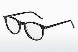 Óculos de design Saint Laurent SL 106 001 - Preto