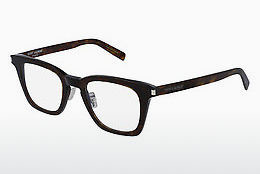 Óculos de design Saint Laurent SL 139 SLIM 003 - Castanho, Havanna