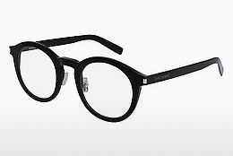 Óculos de design Saint Laurent SL 140/F SLIM 001 - Preto