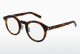 Óculos de design Saint Laurent SL 140 SLIM 002 - Castanho, Havanna