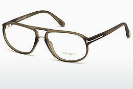 Óculos de design Tom Ford FT5296 046 - Castanho, Bright, Matt