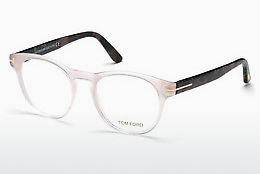 Óculos de design Tom Ford FT5426 072 - Dourado, Rosa