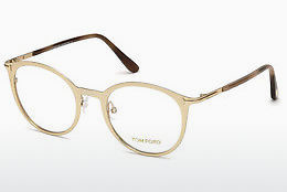 Óculos de design Tom Ford FT5465 28B - Dourado
