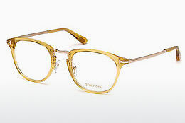 Óculos de design Tom Ford FT5466 039 - Amarelo