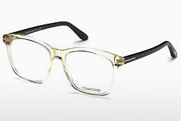 Óculos de design Tom Ford FT5481-B 039 - Amarelo, Shiny