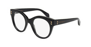 Alexander McQueen AM0035O 001 BLACK
