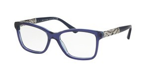 Bvlgari BV4125B 5399 BLUE/STRIPED VIOLET TRANSP