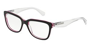 Dolce & Gabbana DG3193 2794 BLACK/PEARL FUXIA/CRYST