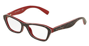 Dolce & Gabbana DG3202 2988 CHECK RED/BLUE/RED