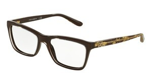 Dolce & Gabbana DG3220 2918 CRYSTAL ON BROWN