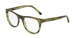 Dolce & Gabbana DG3248 2926 STRIPED OLIVE