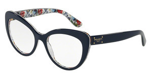 Dolce & Gabbana DG3255 3082 TOP BLUE ON MAIOLICHE