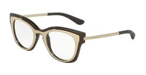 Dolce & Gabbana DG5020 3042 PALE GOLD/CHOCOLATE