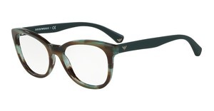 Emporio Armani EA3105 5388 STRIPED GREEN