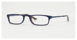 Luxottica LU3203 C497 TOP BLUE ON HORN BROWN