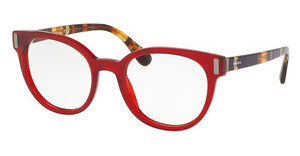 Prada PR 06TV ACB1O1 TRANSPARENT RED