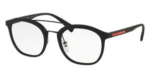 Prada Sport PS 02HV DG01O1 BLACK RUBBER