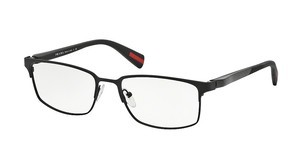 Prada Sport PS 50FV DG01O1 BLACK RUBBER