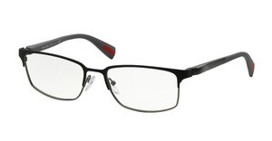 Prada Sport PS 50FV UEB1O1 BLACK/GUNMETAL RUBBER