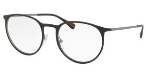 Prada Sport PS 50HV DG01O1 TOP BLACK RUBBER/GUNMETAL