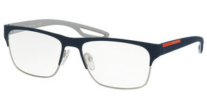 Prada Sport PS 52GV UR51O1 BLUE/STEEL RUBBER