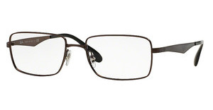 Ray-Ban RX6329 2593 DARK BROWN