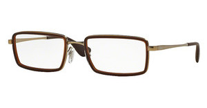 Ray-Ban RX6337 2858 RUBBER BROWN