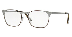 Ray-Ban RX6386 2902 GUNMETAL TOP BROWN