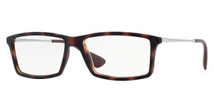 Ray-Ban RX7021 5365 RUBBER HAVANA
