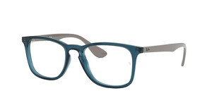 Ray-Ban RX7074 5732 TRASPARENT BLUE