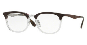 Ray-Ban RX7112 5685 TRASPARENT/SHINY BROWN