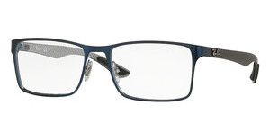 Ray-Ban RX8415 2881 TOP BRUSHED BLUE ON GUNMETAL