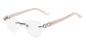 Salvatore Ferragamo SF2140R 601 SHINY ROSE