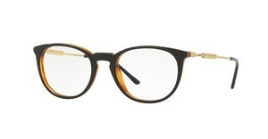 Versace VE3227 138 BLACK/TRANSPARENT ORANGE