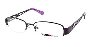 Vienna Design UN479 01 matt dark purple/matt light purple