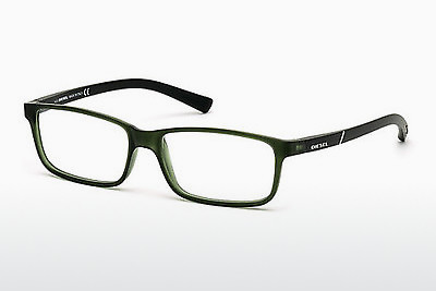 Óculos de design Diesel DL5179 094 - Verde, Bright, Matt