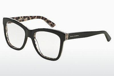 Óculos de design Dolce & Gabbana ENCHANTED BEAUTIES (DG3212 2857) - Preto, Leopard