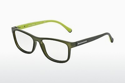 Óculos de design Dolce & Gabbana OVER-MOLDED RUBBER (DG5003 2811) - Verde