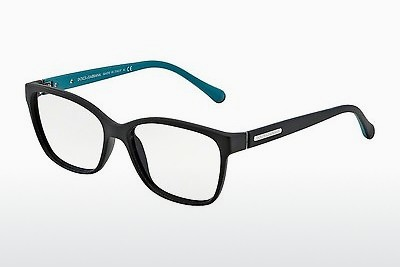 Óculos de design Dolce & Gabbana OVER-MOLDED RUBBER (DG5008 2814) - Preto