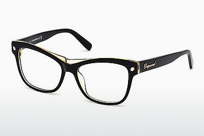 Óculos de design Dsquared DQ5196 003 - Preto, Transparent