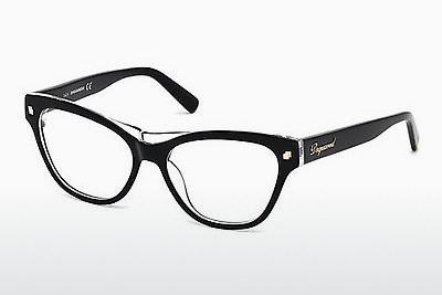 Óculos de design Dsquared DQ5197 003 - Preto, Transparent