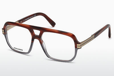 Óculos de design Dsquared DQ5208 065 - Corno, Horn, Brown