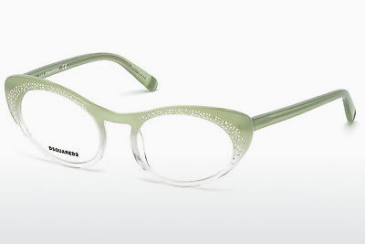 Óculos de design Dsquared DQ5224 094 - Verde, Bright, Matt