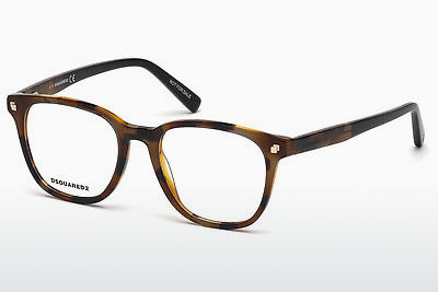 Óculos de design Dsquared DQ5228 053 - Havanna, Yellow, Blond, Brown