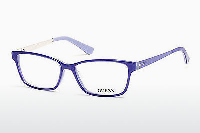 Óculos de design Guess GU2538 086 - Azul, Azurblue