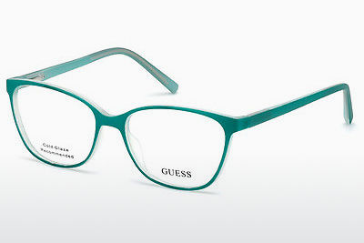 Óculos de design Guess GU3008 095 - Verde, Bright