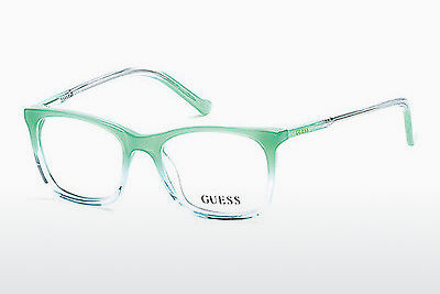 Óculos de design Guess GU9164 093 - Verde, Bright, Shiny