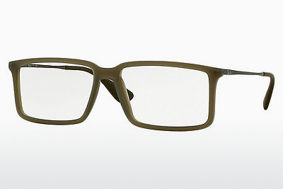 Óculos de design Ray-Ban RX7043 5466 - Verde, Military